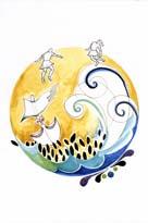 Odisea: Odiseo-y-sus-hombres-luchando-contra-Escila-y-Caribdis